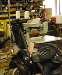 leather repair shop