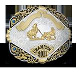 trophy belt buckle