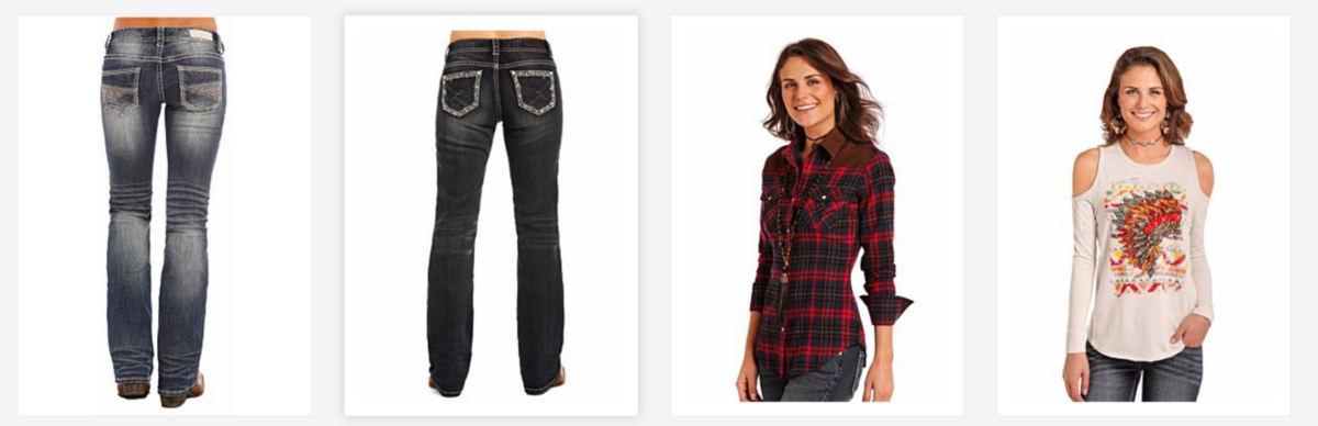 Rock and Roll Cowgirl Clothing