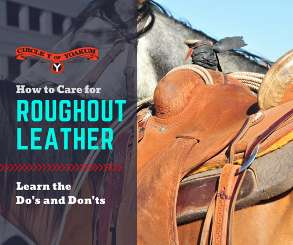 How to Care for RoughoutLeather