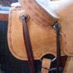 """SALE! Circle Y 2727 Comal 14"""" Regular Fit All Around Ranch Saddle"""
