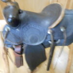 Price Reduced! Hess & Hopkins Vintage Saddle Very Collectible!