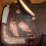 "Special Offer! Reinsman SP4233-15"" Regular Fit Team Camarillo Barrel Racing Saddle"