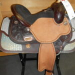 "Special Deal! Circle Y Used, 1524 15"" Wide Fit Faith Barrel Racing Saddle"