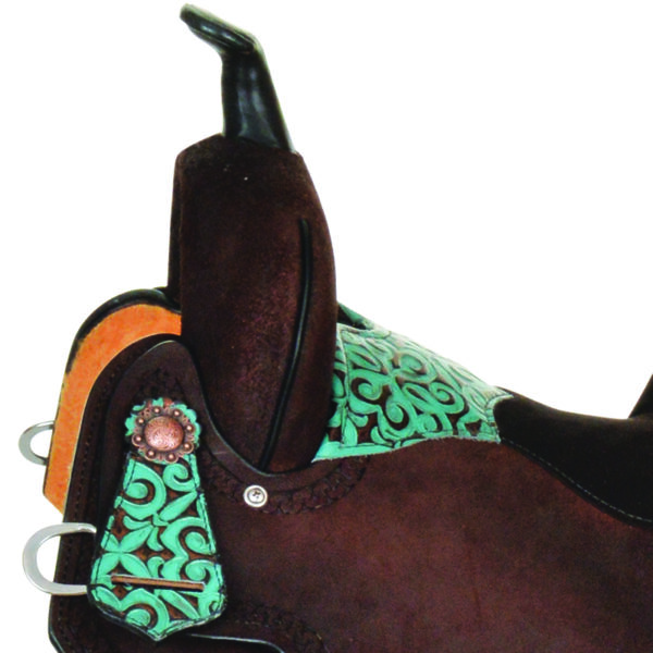 """Coming Soon! 6229 Madison 15"""""""" Wide Fit Barrel Saddle"""