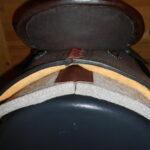 """SOLD! High Horse 6229 Madison 15"""""""" Wide Fit Barrel Saddle"""