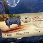 Sale! Comfort Fit Winter Horse Blanket Size 78