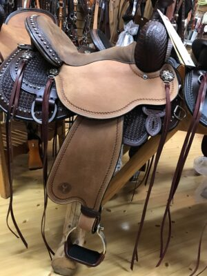 Circle Y 15 Reno Trail Saddle - Luck Saddlery