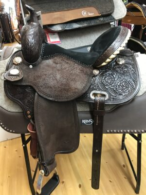 SPECIAL OFFER! Circle Y Kaminski 14 1/2″ Wide fit New Frontier - Luck Saddlery