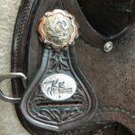 "Circle Y Everglade 16"" Regular Fit Flex 2 Trail Saddle"
