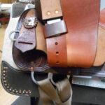 "High Horse Runaway 15"" Wide Fit Barrel Saddle"