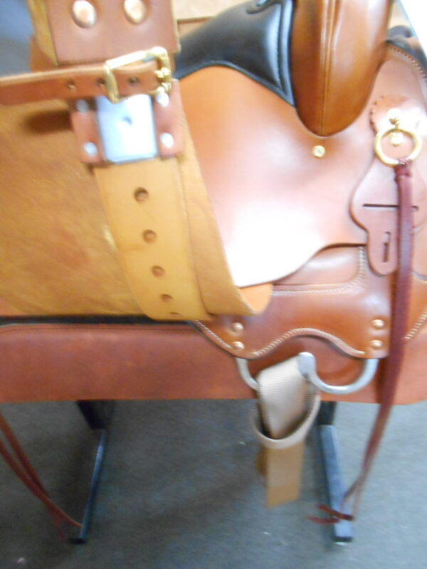 """High Horse Big Springs 17"""" Wide Fit Trail Saddle"""