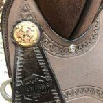 "High Horse 16"" Regular Fit Lucky Round Skirt Barrel Saddle"