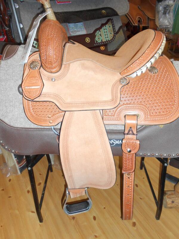 "Reinsman 4203 13 1/2"" Medium Fit Barrel Saddle"