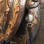 """Circle Y Delta 15"""" Medium Fit Flex 2 Trail Saddle"""