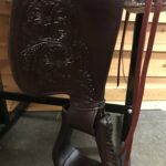 """High Horse 6808 Oyster Creek 16"""" Wide Fit Trail Saddle"""