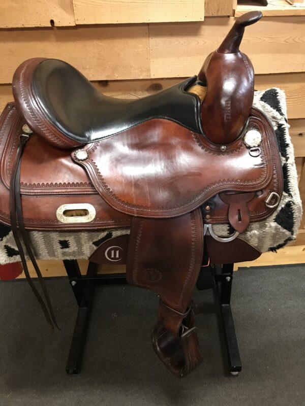 Circle Y Used Topeka Regular Fit Flex 2 Trail Saddle